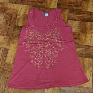 Dots Sequined Tank Top